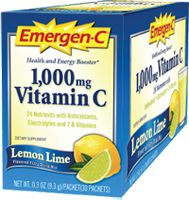 Alacer Emergen-C Lemon-Lime 1000 MG, 30.0 Each , Packets, #vitaminshoppe #contest
