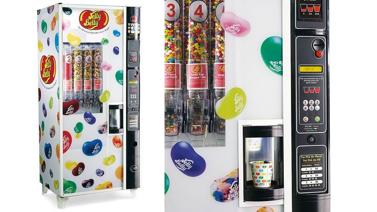 Jelly Belly Vending Machine | Jelly belly, Vending machine ...