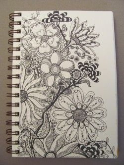 Doodle by Lori Brown :) LOVE!: Tattoo Ideas, Doodles Art, Gorgeous Flowers, Doodles Flowers, Dinki Doo, Flowers Doodles, Flowers Ideas, Nice Quotes, Pinky Dinki