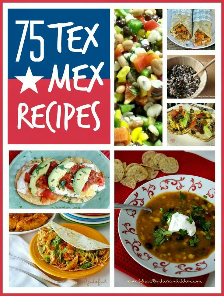 75 fabulous Tex-Mex recipes from some of my fave foodie bloggers @Mums make lists ...