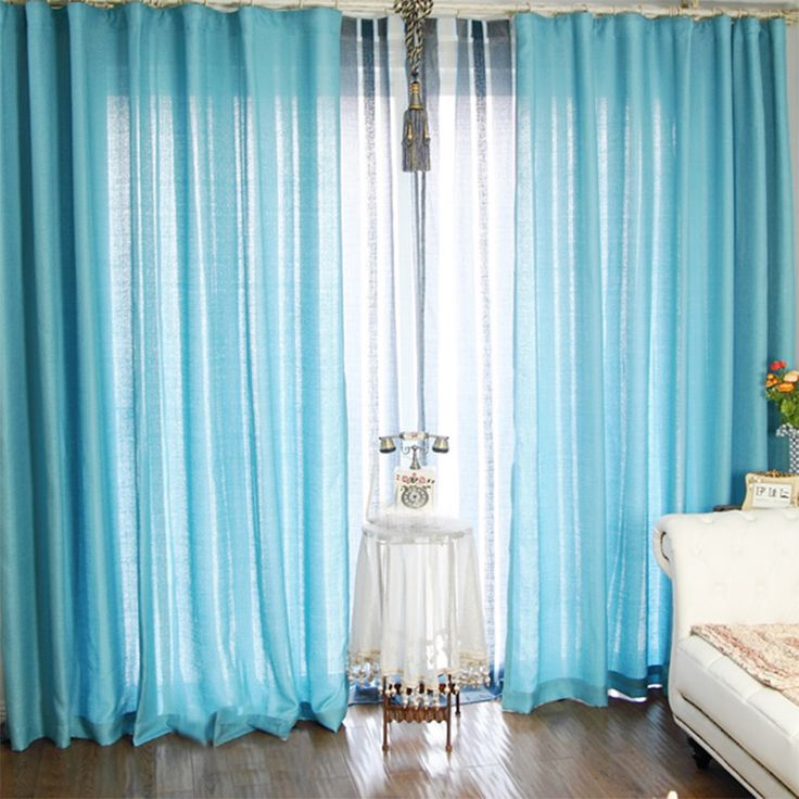 Schlafzimmer Blau: Blau Schlafzimmer Vorhänge Ideen