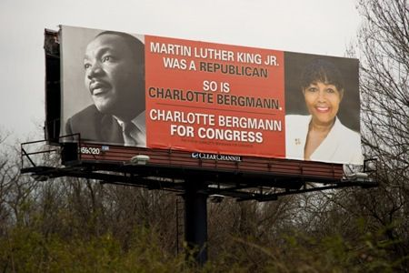 Another Republican claims that Martin Luther King Jr. was part of the GOP   PolitiFact Tennessee // well gee whiz let me state the obvious...Martin Luther King was NOT a republican. Good grief republicans, REALLY? Is there no low you WON'T stoop to?
