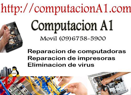 Servicio tecnico de reparacion de computadoras personales y portatiles (laptops). Guayaquil Norte, Sur, Centro, Samborondon, Duran. Ecuador. Llamanos (09)6758-5900