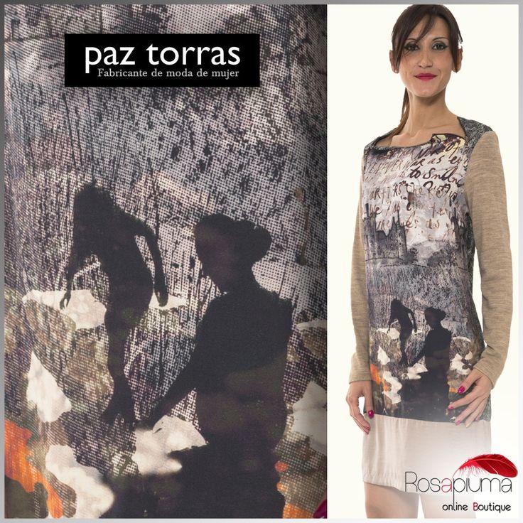 Indossa l' originalità con gli abiti Paz Torras: fantasie esclusive e sofisticate per impreziosire anche gli abiti più #casual!  Da #rosapiumaboutique >> http://bit.ly/1OqhPOb  #rosapiuma #moda #fashioncurvy