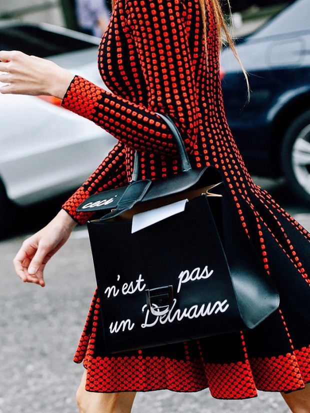 These conversation bags will leave you speechless, literally.