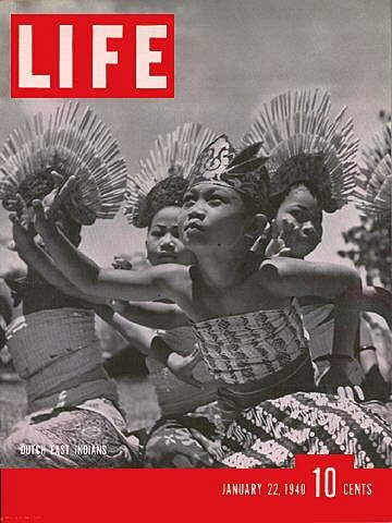 Life Magazine, January 22, 1940 - Dutch East Indies