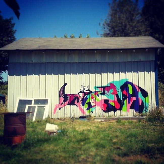 Street Art by Mica Still (New Zealand)