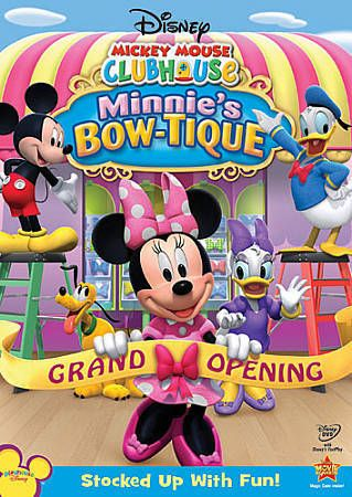 Disney Mickey Mouse Clubhouse MMCH Minnie's Bow-Tique Grand Opening DVD BNIP