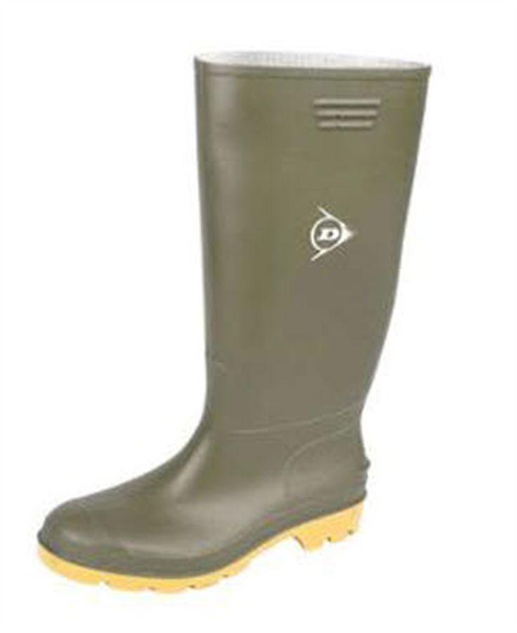 PVC Knielaarzen Dunlop - Zool: PVC - Antislip - Schokabsorberend - Waterdicht - GEEN veiligheidsneus- en zool. - Maat 39 t/m 47 - Nu voor € 20,36 excl BTW , € 24,64 incl BTW