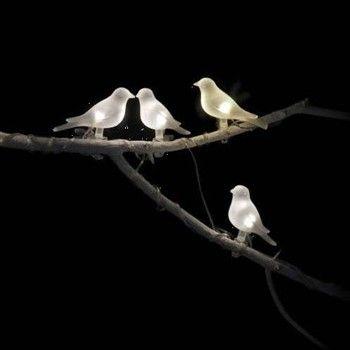 Guirlande solaire 'Oiseaux' L.2m