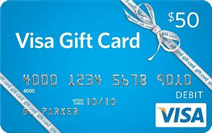 $50 VISA Gift Card | giftcardshunters.com