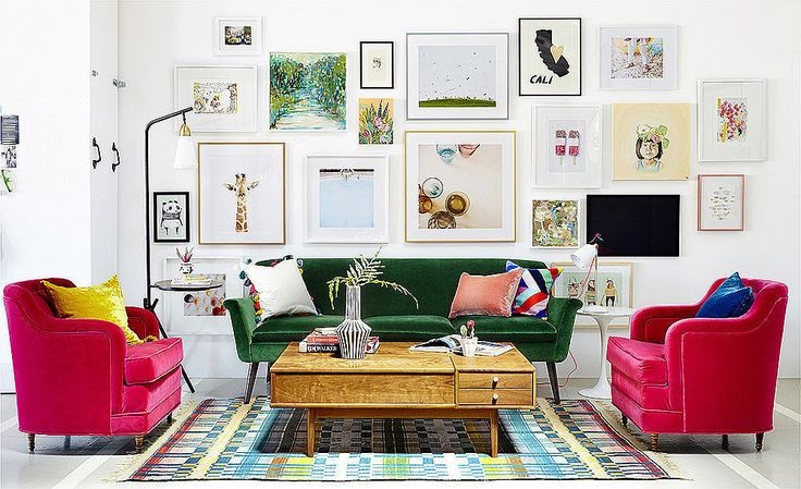 Embrace the Whimsy Step away from the catalogs! Get happy in your home by adding pieces that reflect your unique personality. A couple of ideas: decorate with flea market finds that no one else has and collections from your travels. Even touches like furniture with curved edges will make a difference.