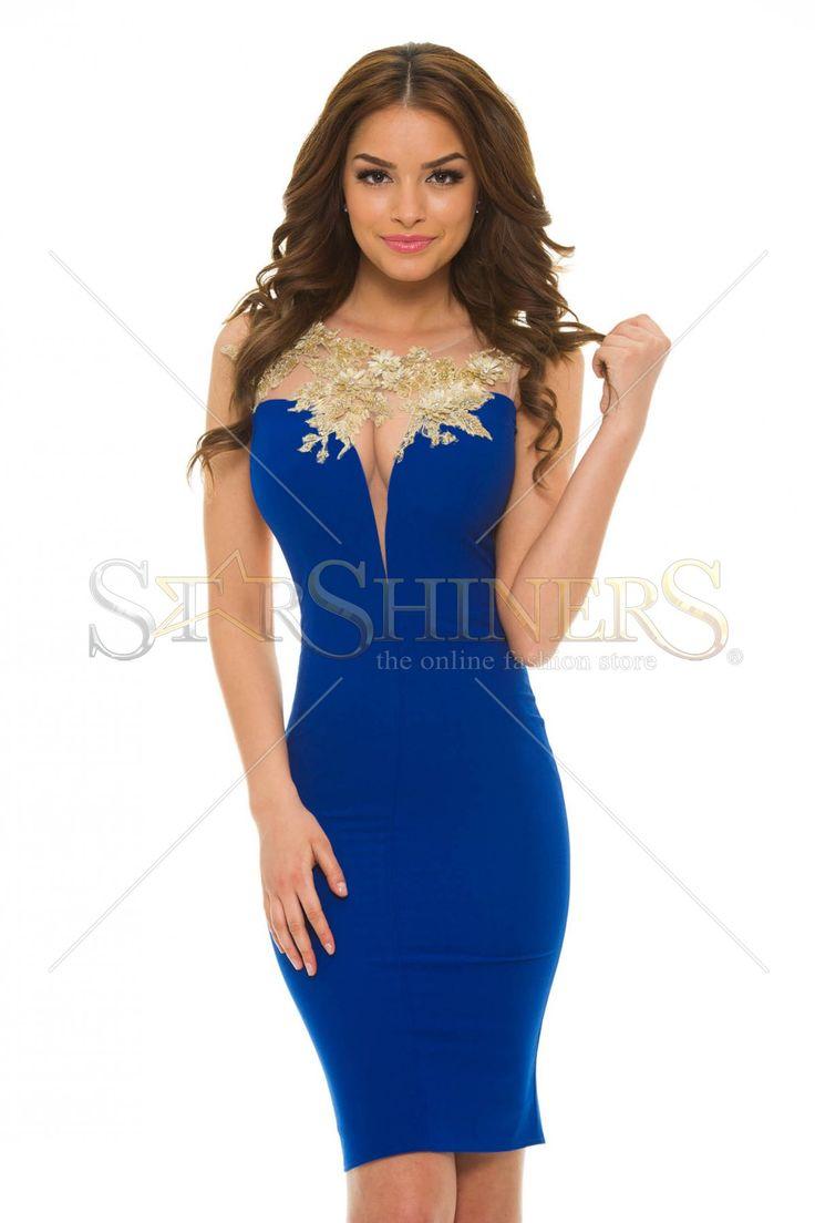LaDonna Bright Lounge Blue Dress