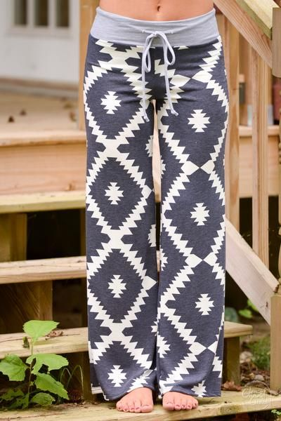 Time to Unwind Lounge Pants - Navy