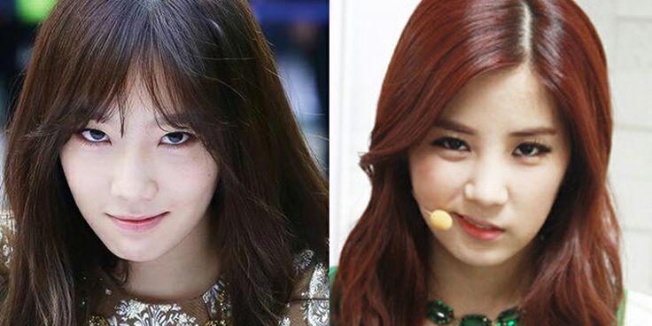 Snsd Taeyeon And Apink Chorong Chorong Pinterest Snsd