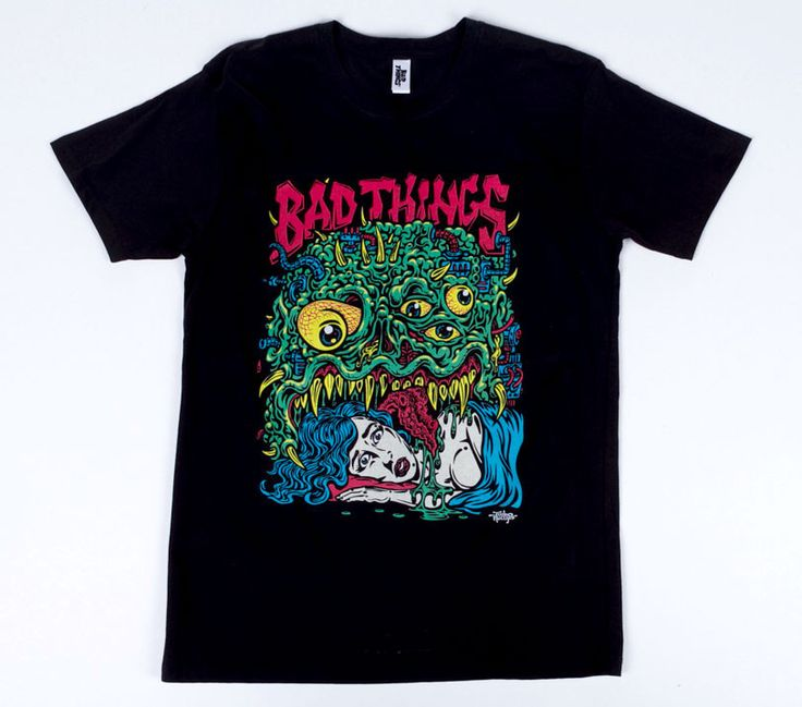 JIMBO PHILLIPS BAD BLOB TEE – Bad Things Apparel