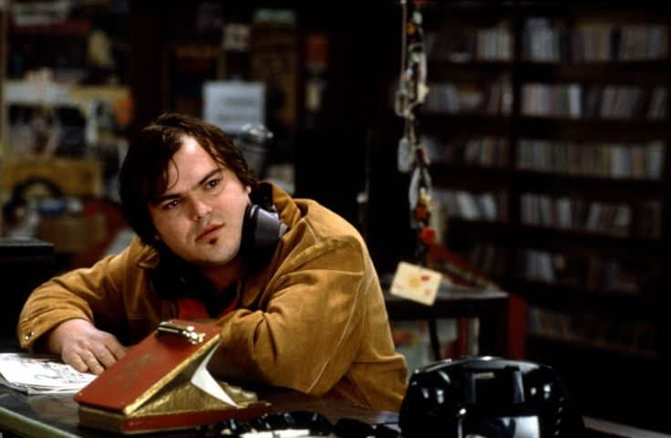 High Fidelity, Jack Black he was soo snotty and funny in this movie! Love John Cusak movies!