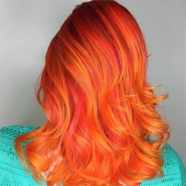 HOW-TO: Fire Hair Inspired by Guy Tang - Career - Modern Salon
