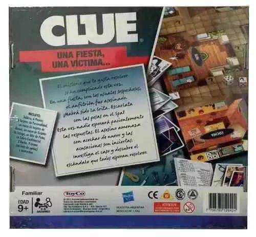 clue juego mesa