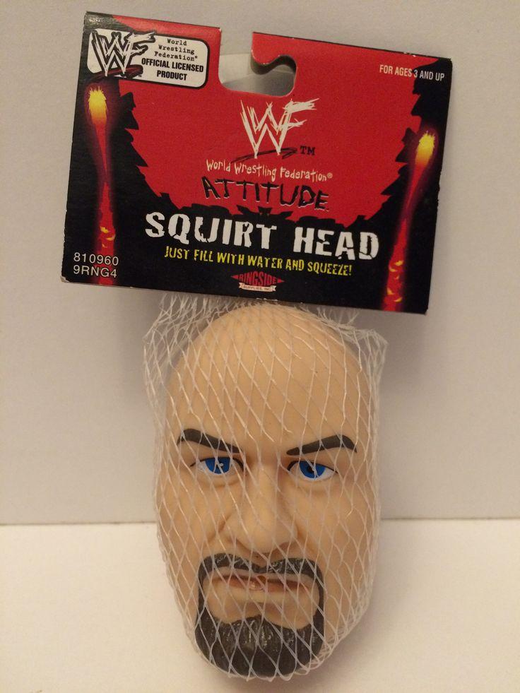 (TAS030044) - 1998 Titan Sports WWF Squirt Head Stone Cold Steve Austin
