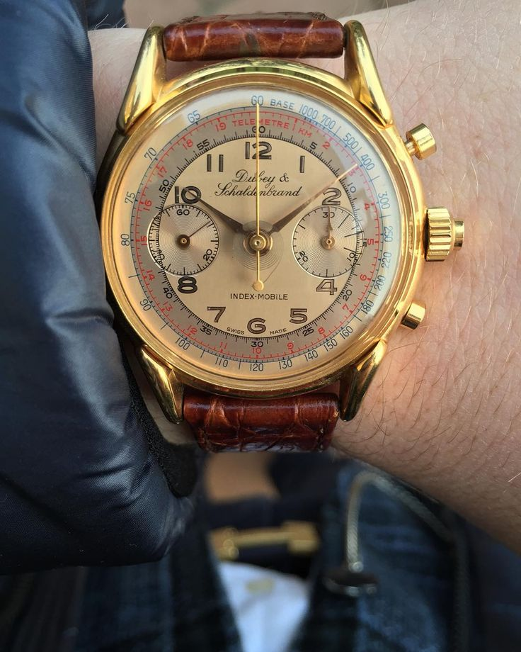 """#WristShot with my vintage Dubey & Schaldenbrand Rattrapante watch  Happy New Year watch-lovers! 2⃣0⃣1⃣6⃣ | #LoveWatches"""