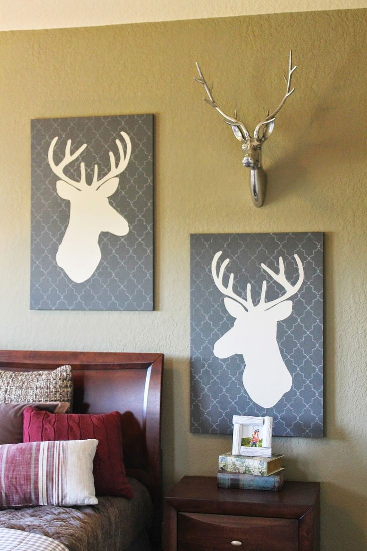 Boys Modern Woodland Themed Room Perfect For Tween Or