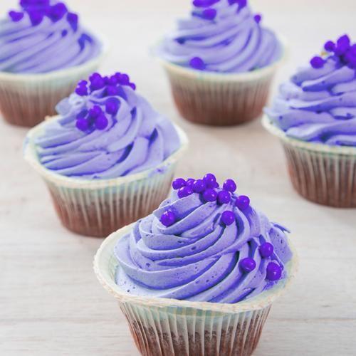 Paarse Cupcakes voor elfjes en feeën! Bestel ze nu