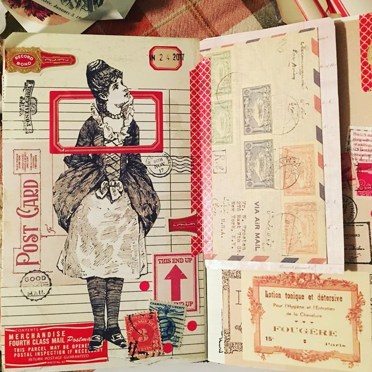Glue book journal!  #gluebook #gluebookjournal #moleskin #travelersnotebook