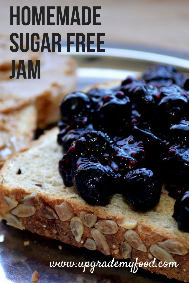 How to make healthy sugar free jam