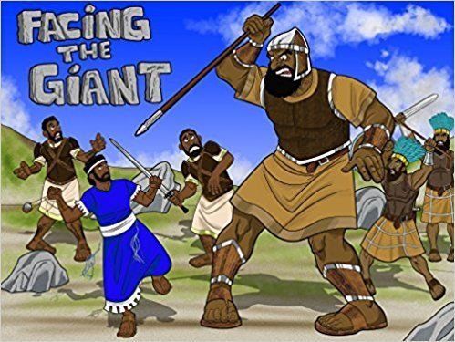 Facing the Giant | The story of David & Goliath: Bible Pathway Adventures: 9780473381523: Amazon.com: Books