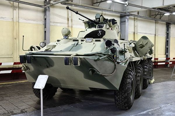 The BTR-82A is an advanced 8×8 wheeled armoured personnel carrier (APC) being manufactured by Military Industrial Company of Russia for...Read More...