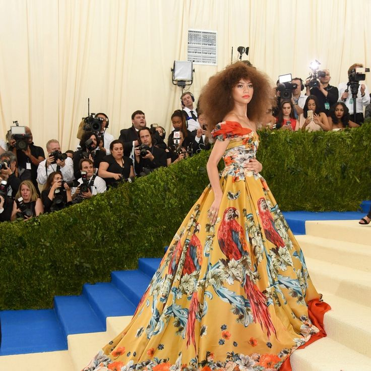 Zendaya Rejects the Met Gala Theme—And Wins