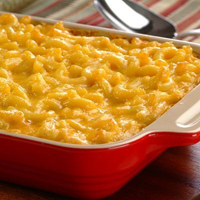 Macaroni and cheese like it's supposed to be, tasty with homemade goodness. Children and adults alike will love this classic.