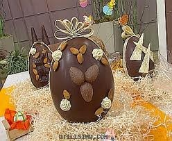huevos de pascua de chocolate - Buscar con Google....I remember these from my childhood