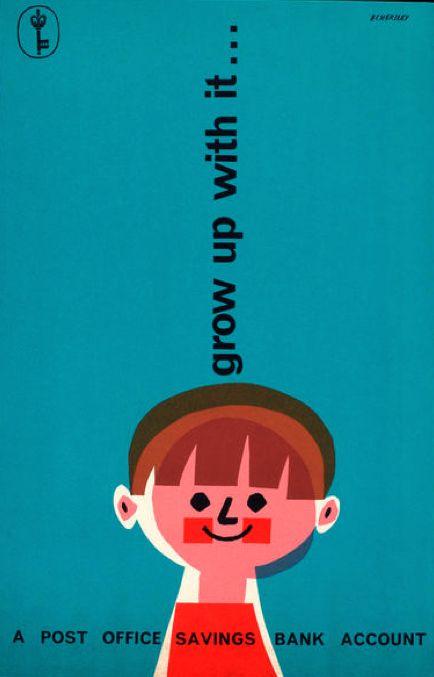 pinkshirtsandcarwrecks: Graphic advertising by Tom Eckersley