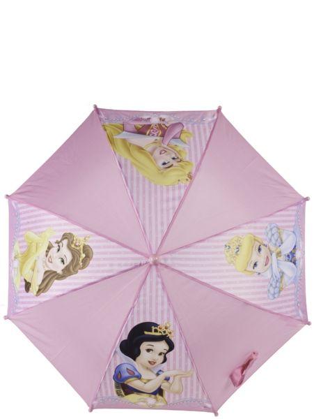 Suojaudu kesäsateilta tyylikkäästi Prinsessat-sateenvarjolla! Hempeän sateenvarjon muovinen kädensija sopii mainiosti pieneen käteen. Sateenvarjon halkaisija n. 66 cm.