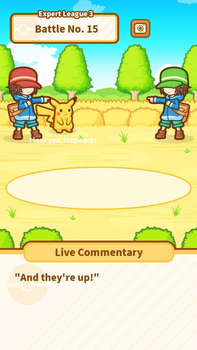 Just keep jumping, Magikarp! #Magikarp http://koiking.jp/r/