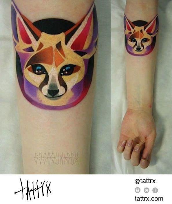 Sasha Unisex: Bat-Eared Fox