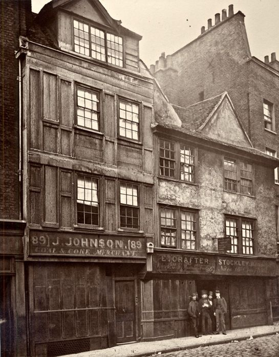 Life in london 1800s for Classic house old street london