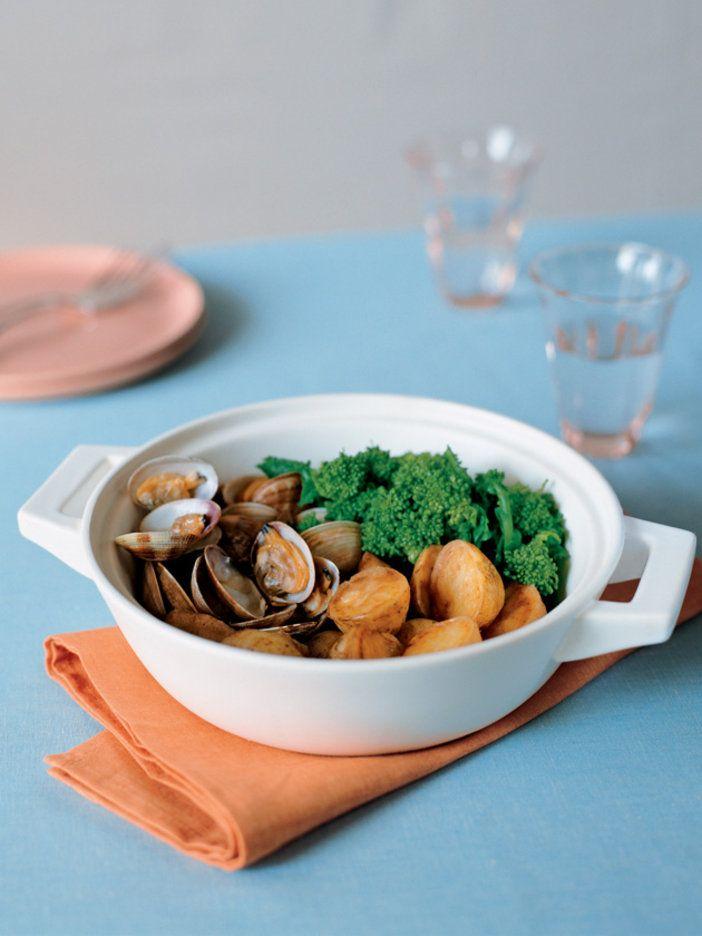 新じゃが井本菜の花の若い香りを楽しむ春ならではの一品|『ELLE a table』はおしゃれで簡単なレシピが満載!