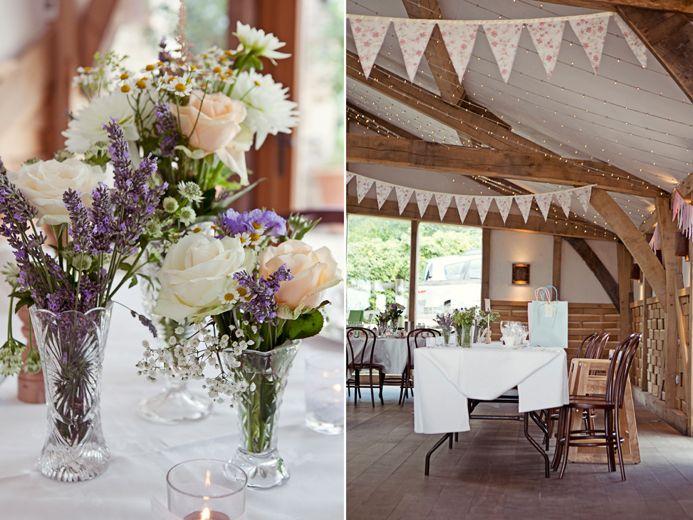 Elegant vintage Cripps Barn wedding