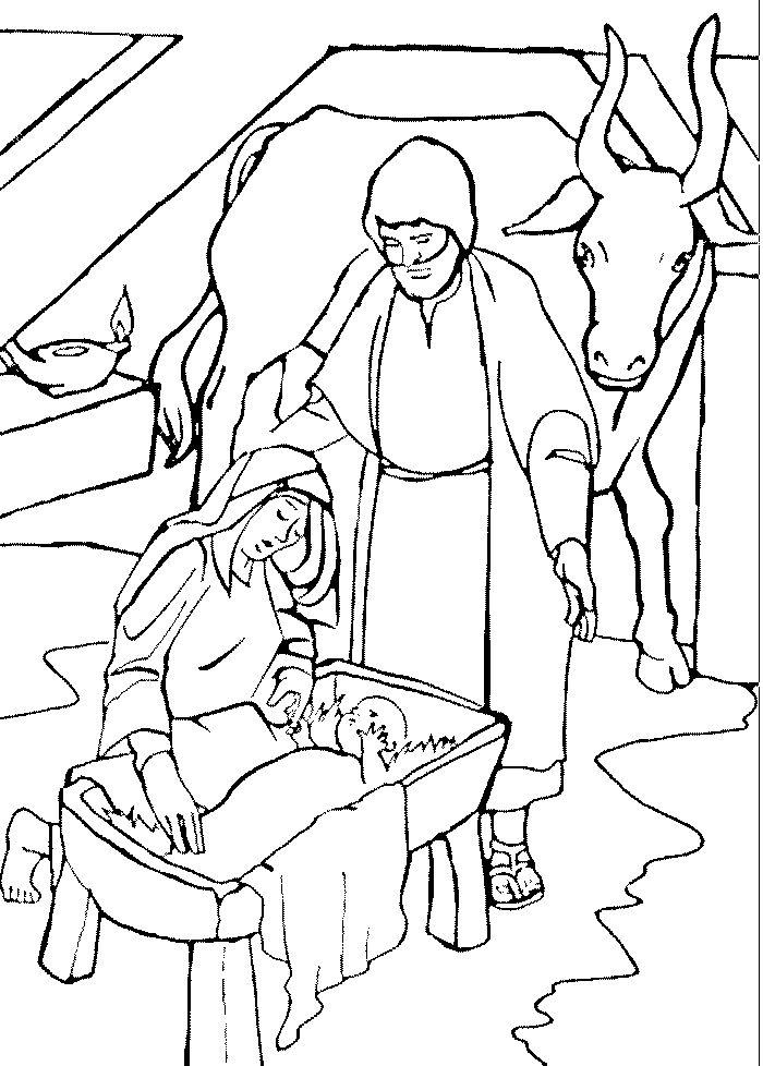 Bijbel kleurplaten