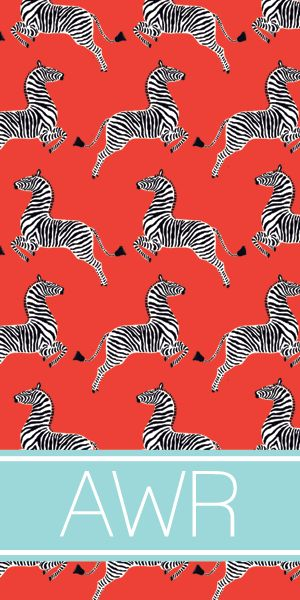 Zippity Zebra Beach Towels