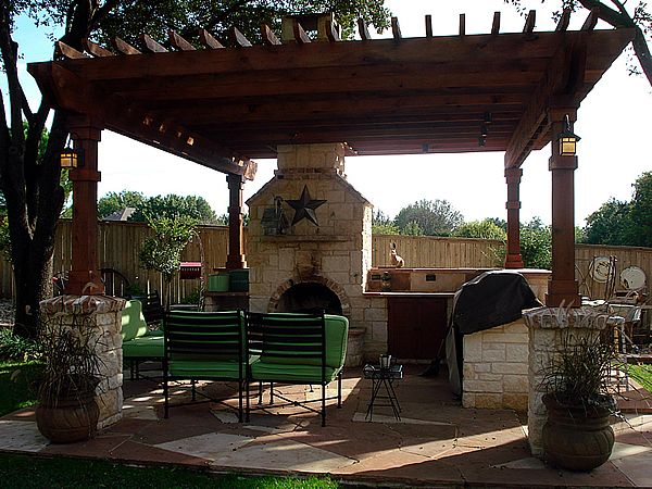 21 Best images about Ideas for the House on Pinterest ... on Patio Cabana Ideas id=16700