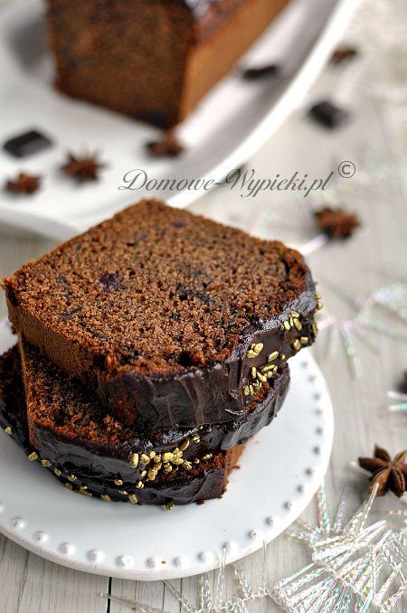 Wilgotne ciasto piernikowe