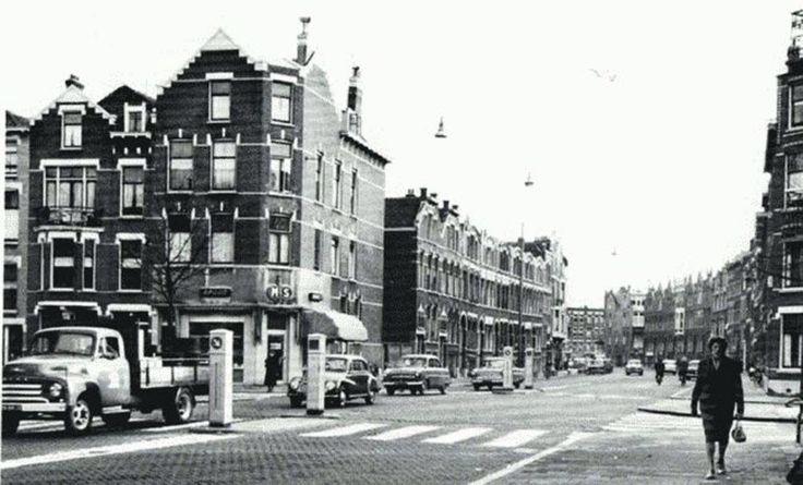 Berkelselaan, Rodenrijsestraat rond 1960