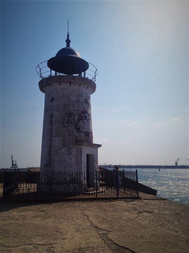 Lighthouse in Mangalia, Romania. #lighthouse #mangalia #blacksea #romania