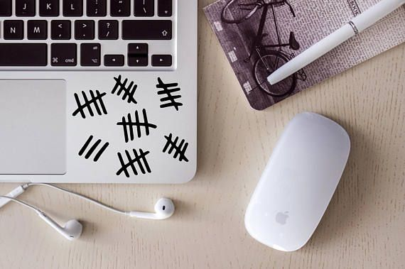 Tally Marks Decal, Doctor Who Decal, Silence Decal, Silence will fall, yeti decal, tumbler decal, car decal, laptop decal, mug decal, yeti