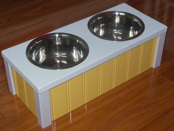 6 Quot High Elevated Pet Feeder These Raised Dog Feeders And