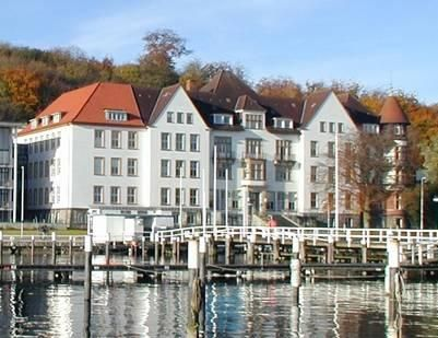Kiel, Germany on the Baltic Sea. The Kiel Institute for the World Economy, was founded in 1914 and is affiliated with the Christian-Albrechts-University of Kiel. (going here next month  rw)